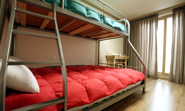 Dormitory for 6 people