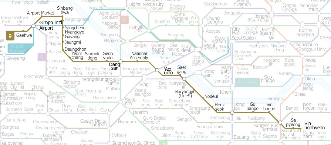 seoul subway map pdf 2013