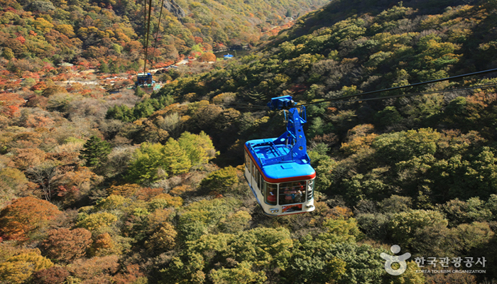 Naejangsan Mountain Cable Car