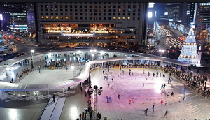 Seoul Square Ice Rink 1