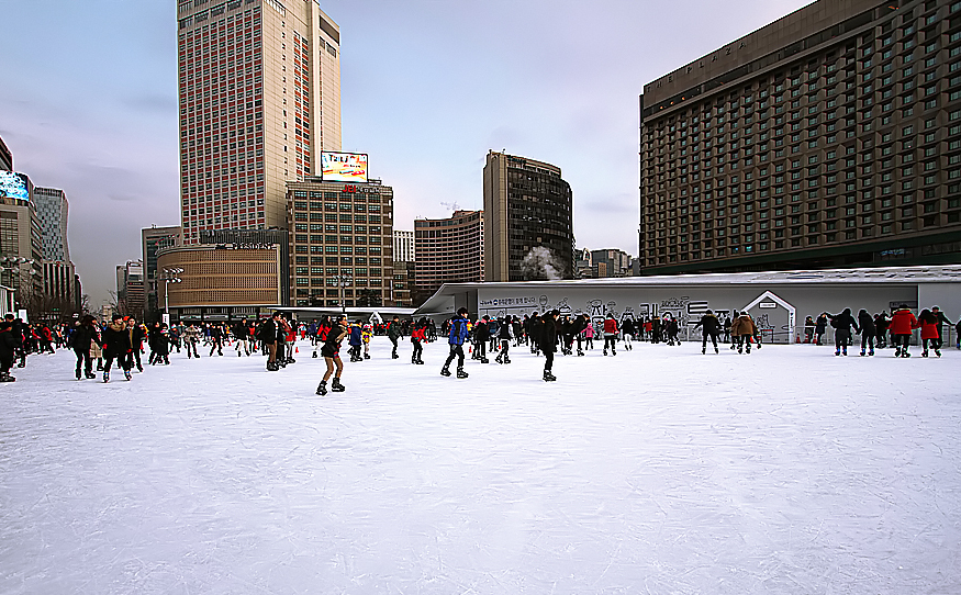 Seoul Square Ice Rink 3
