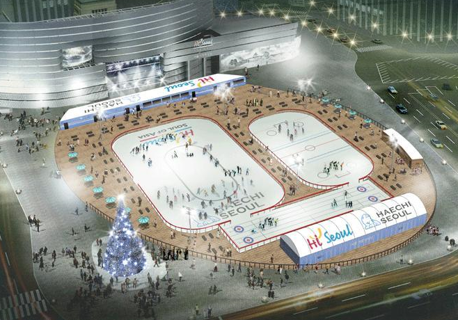 Seoul Square Ice Rink 4