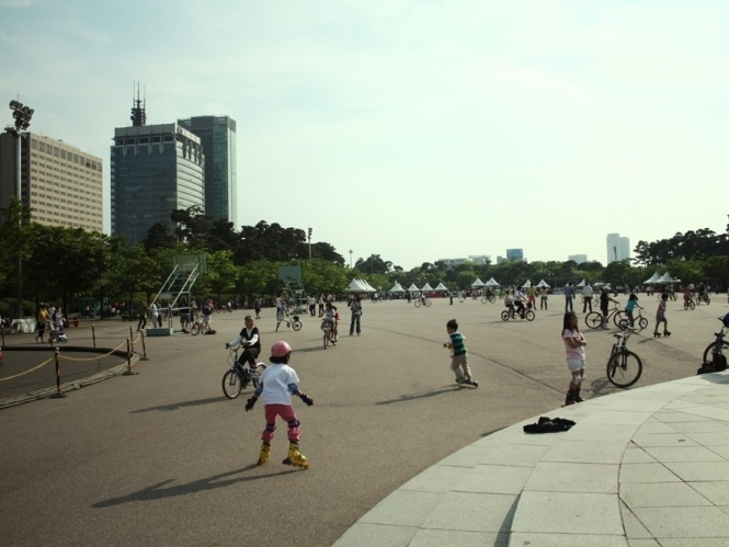Yeouido In line skate rink